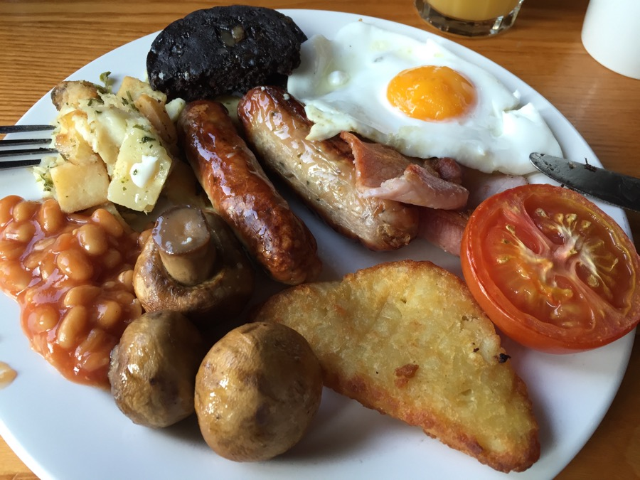 Premier Inn Fryup - hopefully just a blip on their record of 'not bad' usually